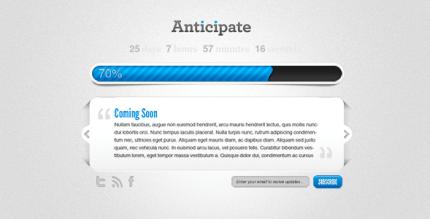 anticipate