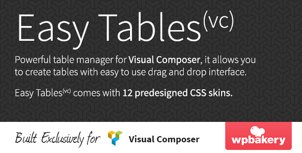 easy-tables
