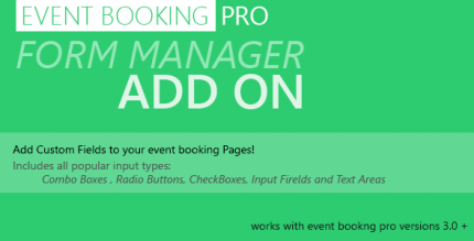 event-booking-pro-forms