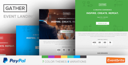 gather-event-conference-wp-landing-page-theme