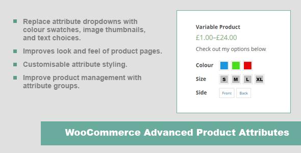 JC WooCommerce Advanced Product Attributes 1 5 6