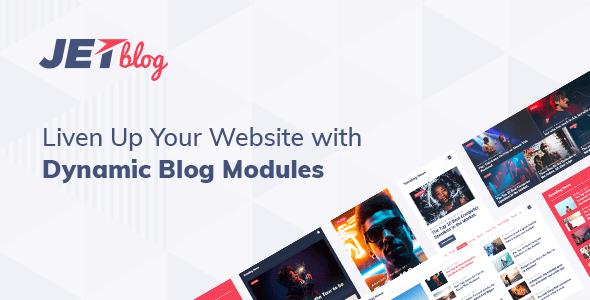 JetBlog 2 1 14 – Blogging Package for Elementor Page Builder