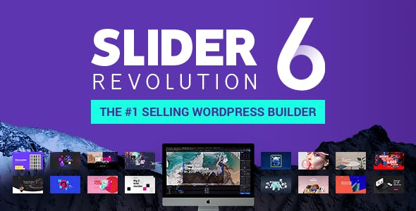 Slider Revolution 6 0 9 – Responsive WordPress Plugin NULLED