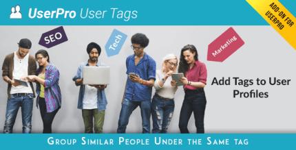 userpro-tags-addon